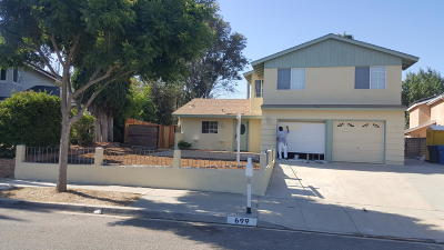 Simi Valley Single Family Home Active Under Contract: 699 Appleton Road