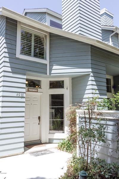 Ventura Condo/Townhouse Active Under Contract: 4930 Berlioz Street #7