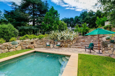 Ojai Single Family Home For Sale: 4320 Thacher Road