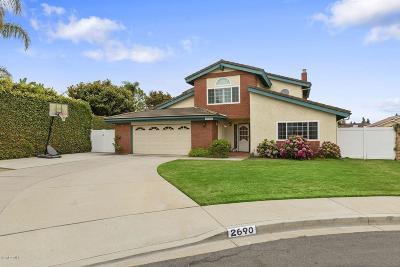 Camarillo Single Family Home For Sale: 2690 Gemini Court