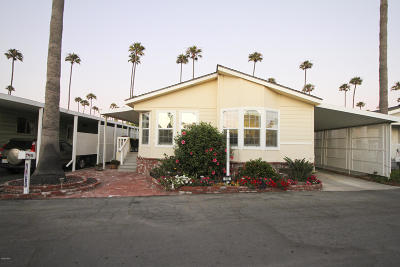 Ventura Mobile Home For Sale: 1215 Anchors Way Drive #192