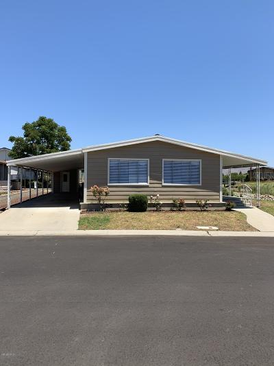 Ventura Mobile Home Active Under Contract: 124 Poinsettia Gardens Drive