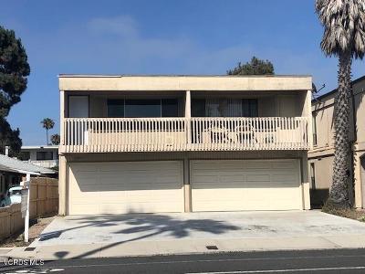 Ventura Multi Family Home Active Under Contract: 2209 Pierpont Boulevard #1 & 2
