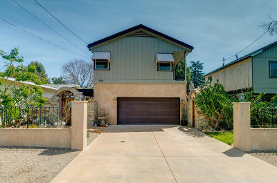 Oak View Single Family Home Active Under Contract: 250 Apricot Street