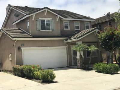 Oxnard Single Family Home For Sale: 1786 Valerosa Way