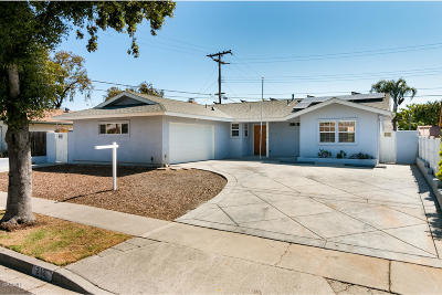 Ventura Single Family Home Active Under Contract: 212 Huntington Avenue
