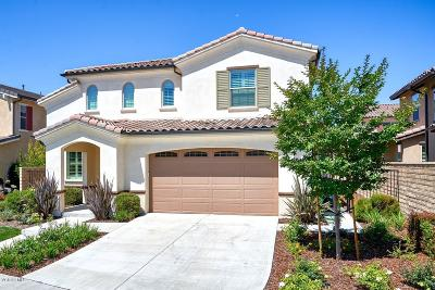 Camarillo Single Family Home Active Under Contract: 449 Elm Cottage Court