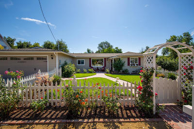Ojai Single Family Home For Sale: 1002 Drown Avenue