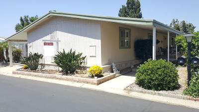 Camarillo Mobile Home Active Under Contract: 201 Caleta Drive #104