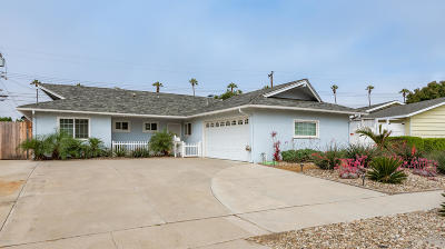 Ventura Single Family Home Active Under Contract: 1545 Nevin Avenue