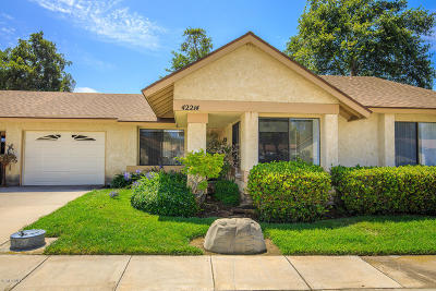 Camarillo Single Family Home Active Under Contract: 42214 Village 42