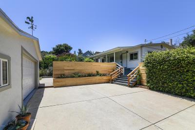 Ojai Single Family Home Active Under Contract: 1507 Loma Drive
