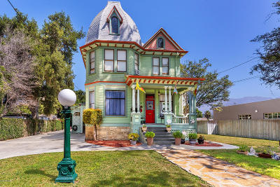 Santa Paula Single Family Home For Sale: 525 E Main Street