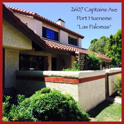Port Hueneme Condo/Townhouse For Sale: 2607 Captains Avenue