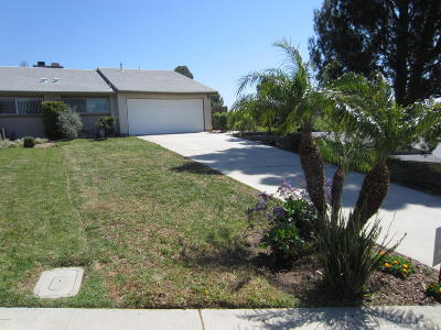 Moorpark Single Family Home Active Under Contract: 15059 Marquette Street