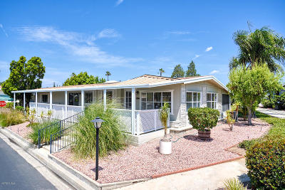 Camarillo Mobile Home Active Under Contract: 134 Tranquila Drive
