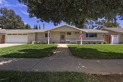 Simi Valley Single Family Home Active Under Contract: 1472 Milan Drive