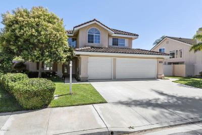 Oxnard Single Family Home Active Under Contract: 2620 Volcano Court