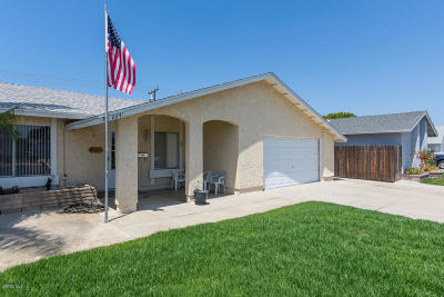 Oxnard Single Family Home For Sale: 2241 Jardin Drive