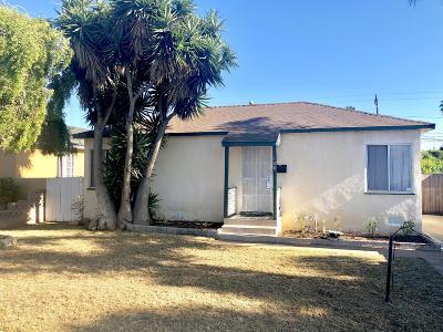 Oxnard Rental For Rent: 160 E Cedar Street