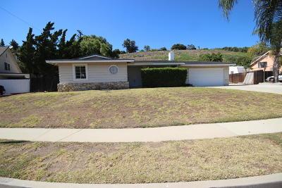 Camarillo Single Family Home For Sale: 217 Calle Higuera
