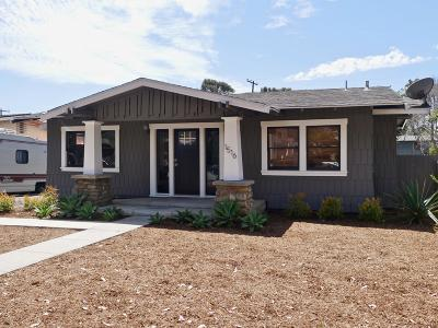 Ventura Single Family Home For Sale: 1516 E Thompson Boulevard
