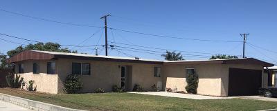 Oxnard Single Family Home Active Under Contract: 498 Simon Way