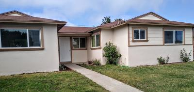 Oxnard Single Family Home Active Under Contract: 921 Spruce Street