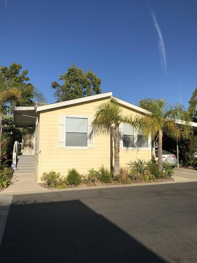 Camarillo Mobile Home For Sale: 1150 Ventura Boulevard #14