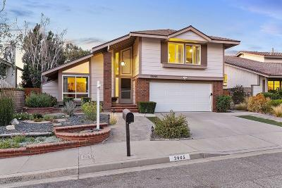 Newbury Park Single Family Home Active Under Contract: 3065 Charlotte Street
