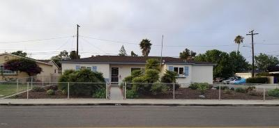 Port Hueneme Single Family Home Active Under Contract: 1016 6th Place