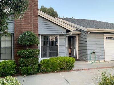 Camarillo Rental For Rent: 2374 Moreno Drive