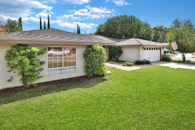 Thousand Oaks Single Family Home For Sale: 1822 Shaw Court
