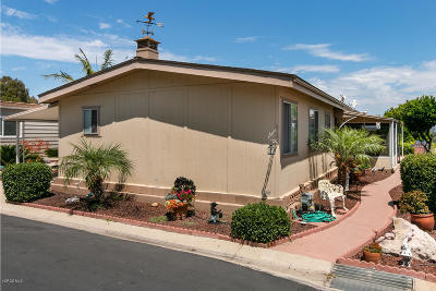 Camarillo Mobile Home Active Under Contract: 21 Christina Avenue #173