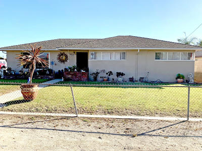 Oxnard Single Family Home For Sale: 682 Walnut Drive