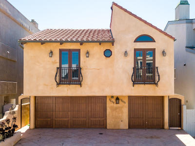Oxnard Single Family Home For Sale: 3633 Ocean Drive