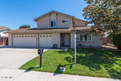 Camarillo Single Family Home Active Under Contract: 2598 Truman Street