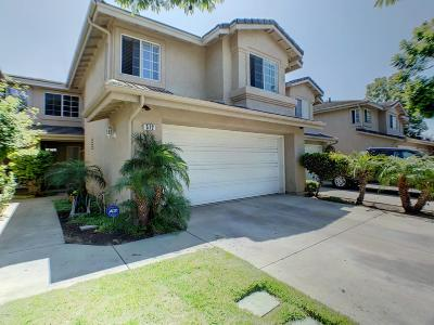 Oxnard Condo/Townhouse For Sale: 512 Orilla Walk