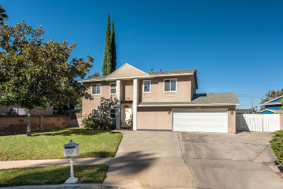 Simi Valley Single Family Home Active Under Contract: 1761 Julie Circle