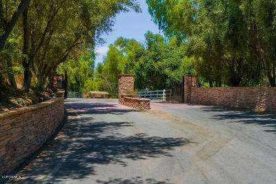 Ventura County Residential Lots & Land For Sale: 6800 Coyote Canyon Road