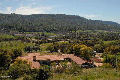 Ojai Single Family Home For Sale: 12605 Highwinds Road