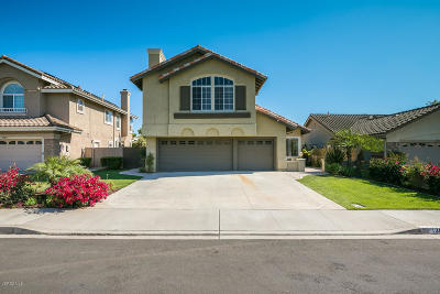 Camarillo Single Family Home Active Under Contract: 1388 La Culebra Circle