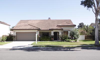 Oxnard Single Family Home For Sale: 2668 Honeysuckle Drive