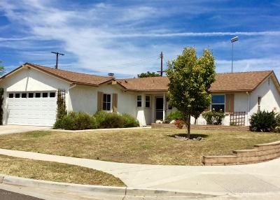 Ventura Single Family Home Active Under Contract: 382 Harte Avenue