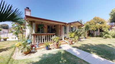 Fillmore Single Family Home For Sale: 447 2nd Street