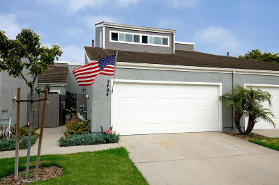 Port Hueneme Condo/Townhouse For Sale: 2494 Dockson Place