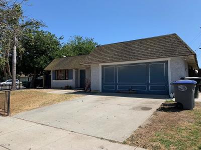 Oxnard Single Family Home Active Under Contract: 2174 San Mateo Place
