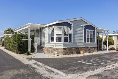Ventura Mobile Home For Sale: 181 Gay Drive