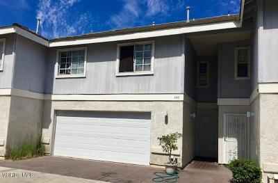Port Hueneme Condo/Townhouse For Sale: 693 Evergreen Lane W