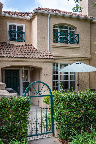 Oxnard Condo/Townhouse Active Under Contract: 1243 Lost Point Lane